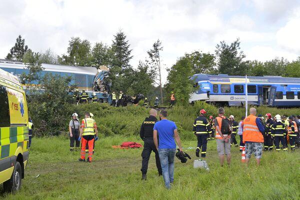 Souprava, která jela z Mnichova, patří soukromému německému provozovateli Länderbahn, který působí i v Česku. Společnost na místo nehody vyslala své pracovníky - Sputnik Česká republika