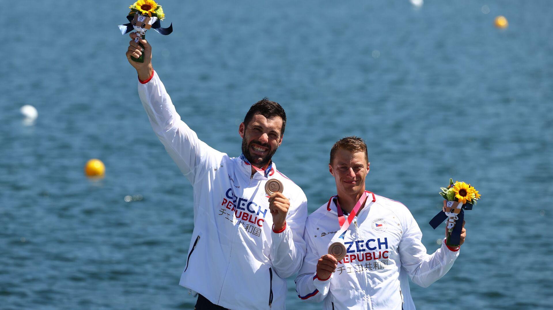 Dostál se Šloufem s bronzovými medailemi - Sputnik Česká republika, 1920, 05.08.2021