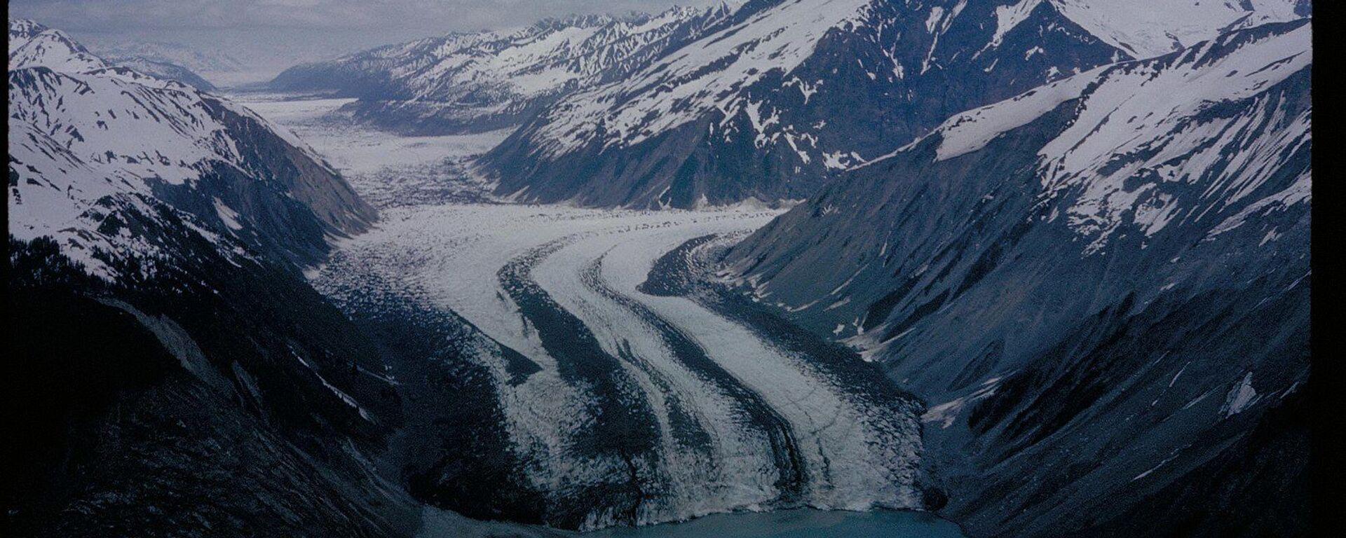 Ledovec v národním parku Glacier Bay na Aljašce - Sputnik Česká republika, 1920, 06.08.2021