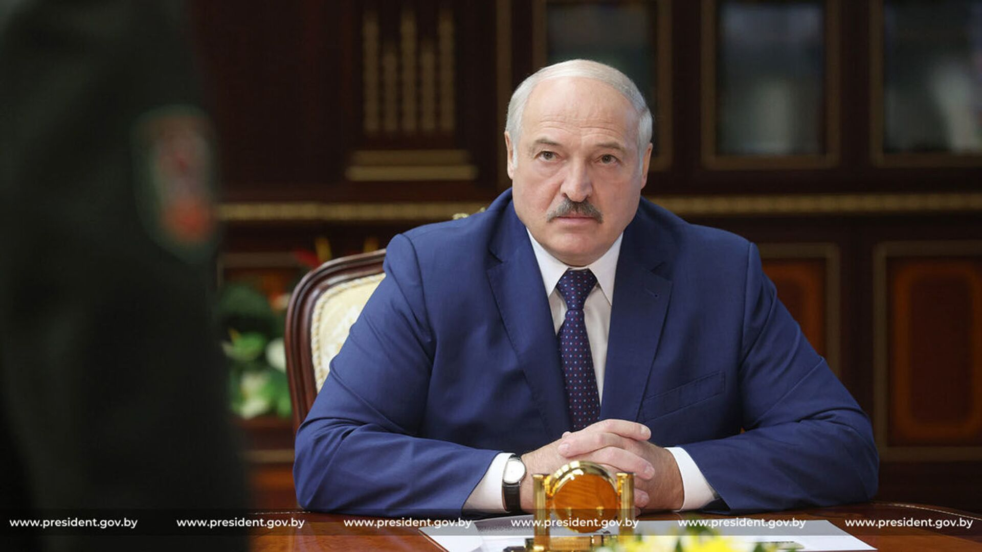 Běloruský prezident Alexandr Lukašenko  - Sputnik Česká republika, 1920, 09.08.2021