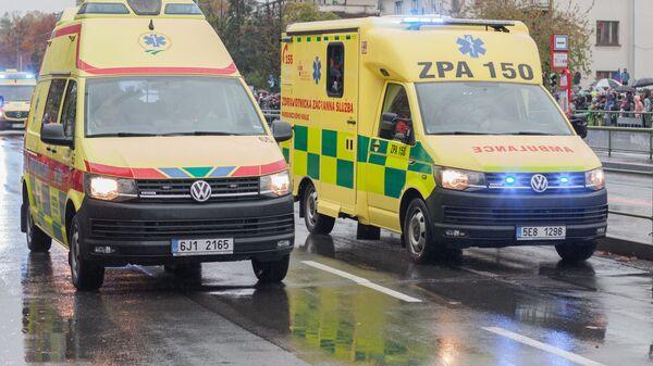 Автомобили скорой помощи в Чехии - Sputnik Česká republika