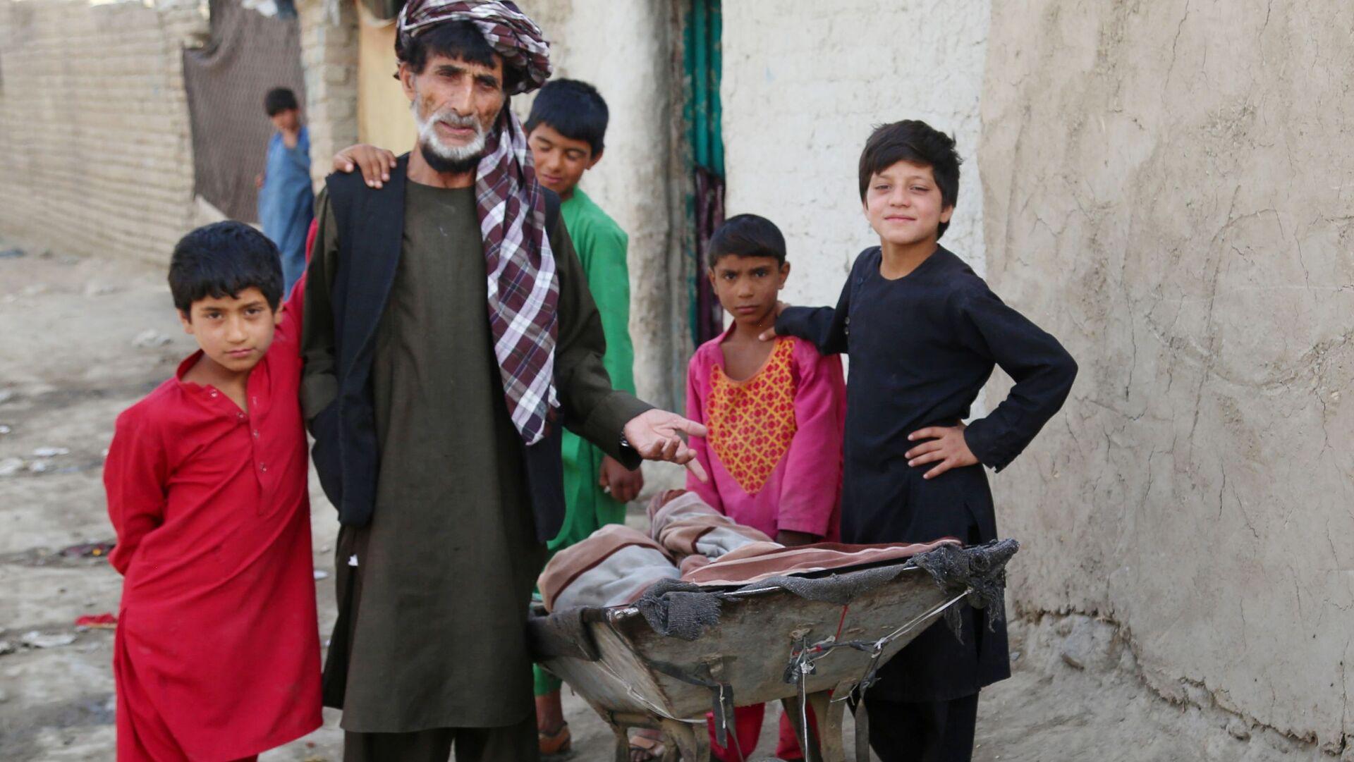 Afghánští vnitřně přesídlení osoby v Kábulu - Sputnik Česká republika, 1920, 10.08.2021