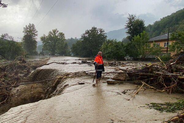 Následky ničivých povodní v Černomořském regionu Turecka. - Sputnik Česká republika