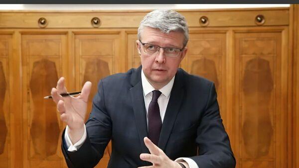 Чешский министр промышленности и торговли, а также министр транспорта Карел Гавличек - Sputnik Česká republika