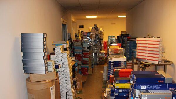 Вещи, конфискованные чешской полицией в рамках уголовного дела - Sputnik Česká republika