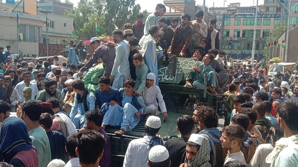 Tálibán v Kabulu - Sputnik Česká republika