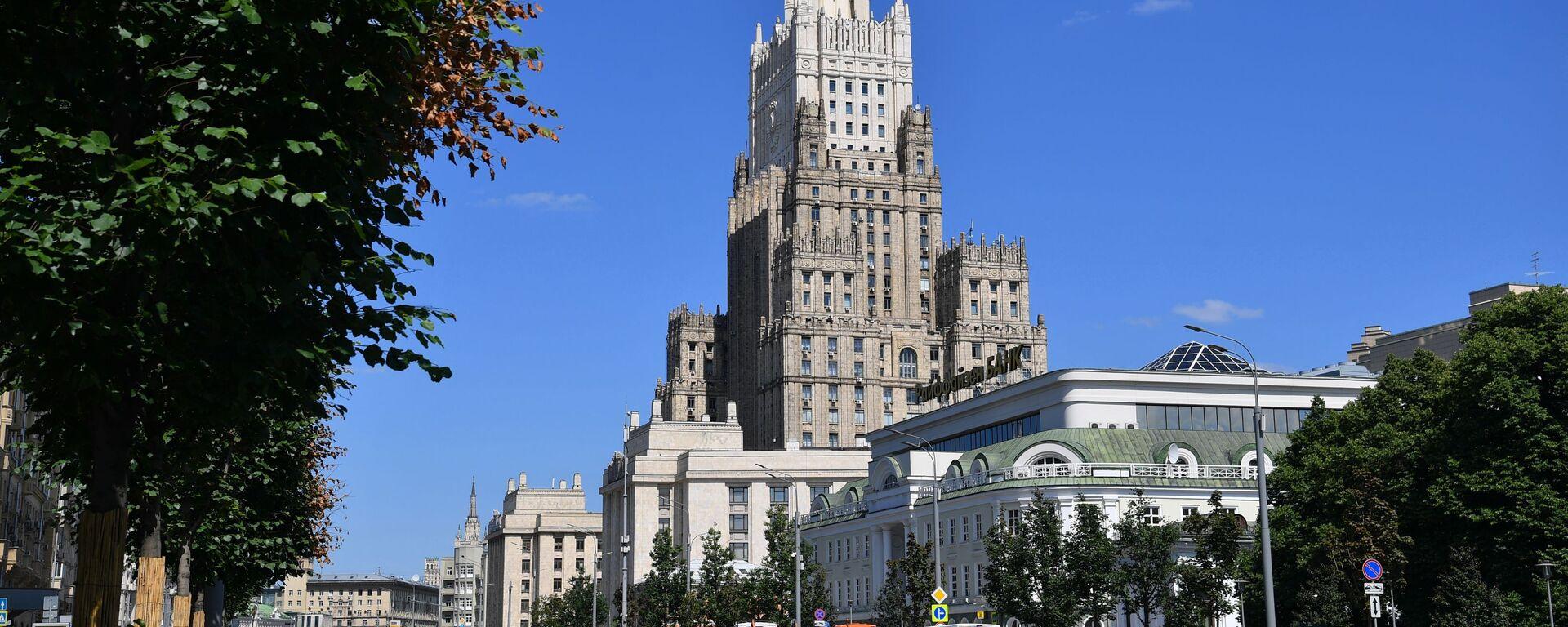 Budova Ministerstva zahraničí RF v Moskvě - Sputnik Česká republika, 1920, 17.08.2021