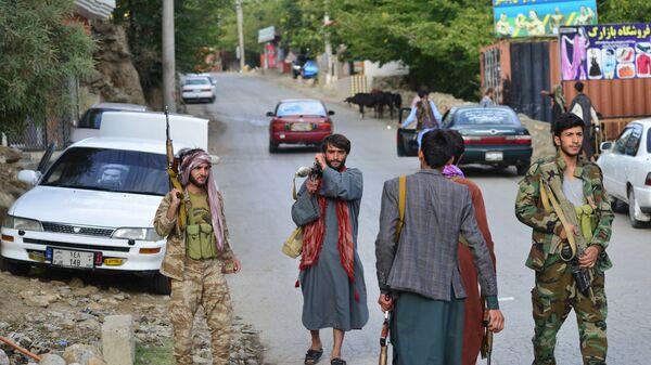 Вооруженные люди против Талибана*  в провинции Панджшер  - Sputnik Česká republika