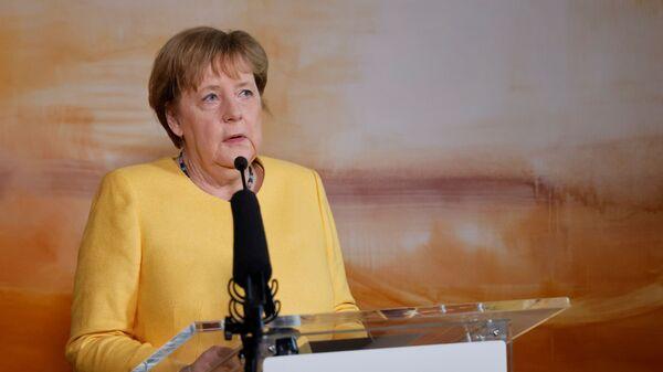 Канцлер Германии Ангела Меркель - Sputnik Česká republika