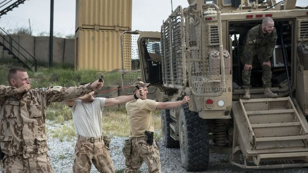 Военнослужащие чешской армии в Баграме, Афганистан - Sputnik Česká republika