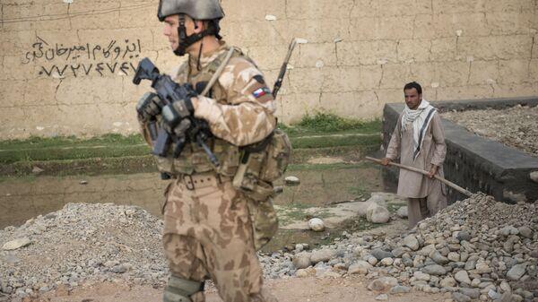 Сержант чешской армии в Баграме, Афганистан - Sputnik Česká republika