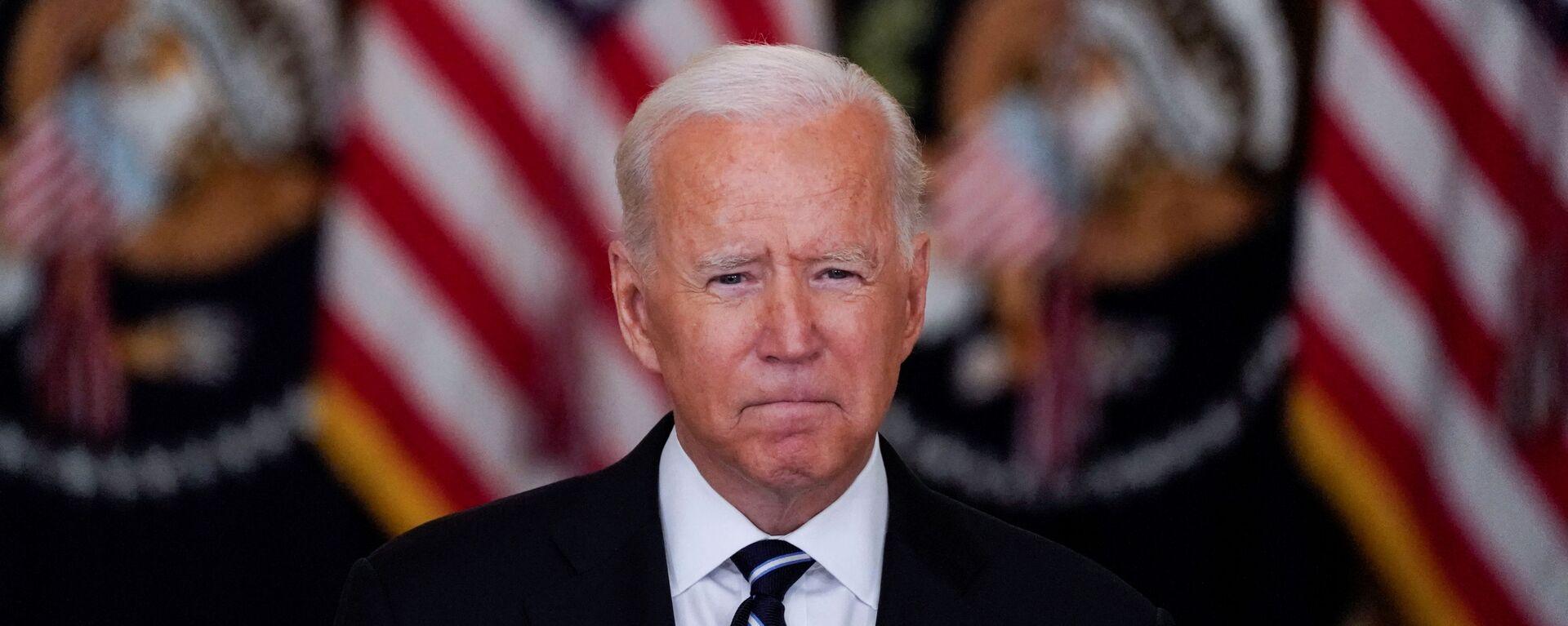 Americký prezident Joe Biden - Sputnik Česká republika, 1920, 07.09.2021