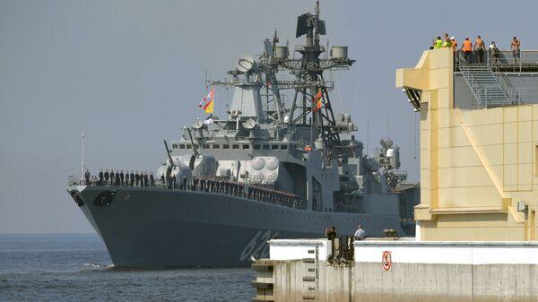 Большой противолодочный корабль Вице-адмирал Кулаков - Sputnik Česká republika