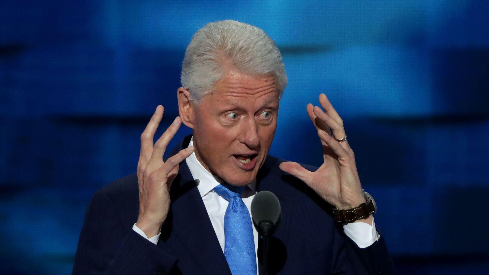 Americký bývalý prezident Bill Clinton - Sputnik Česká republika, 1920, 22.08.2021