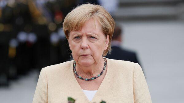 Канцлер Германии Ангела Меркель в Киеве  - Sputnik Česká republika
