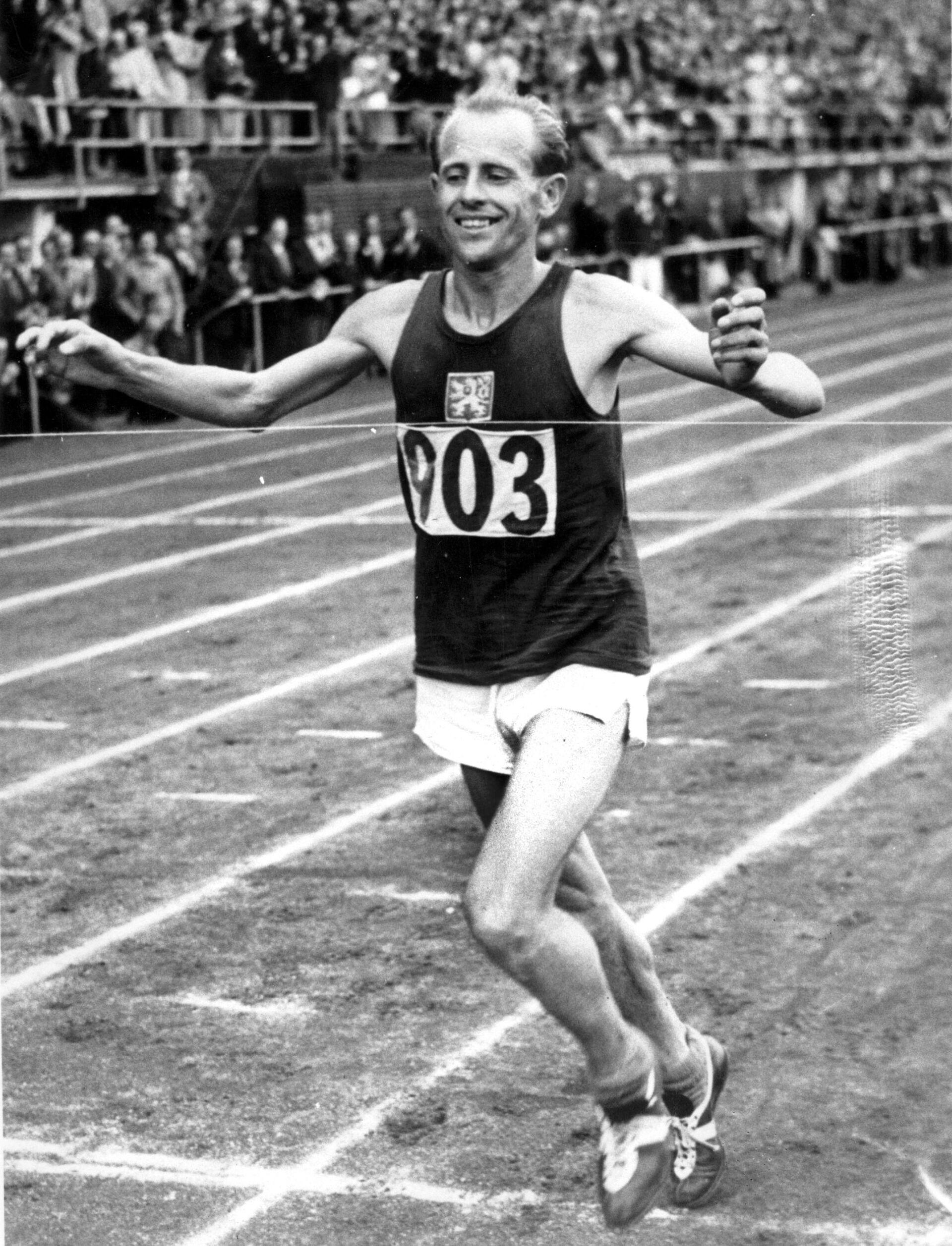 Emil Zátopek, 1952 - Sputnik Česká republika, 1920, 23.08.2021