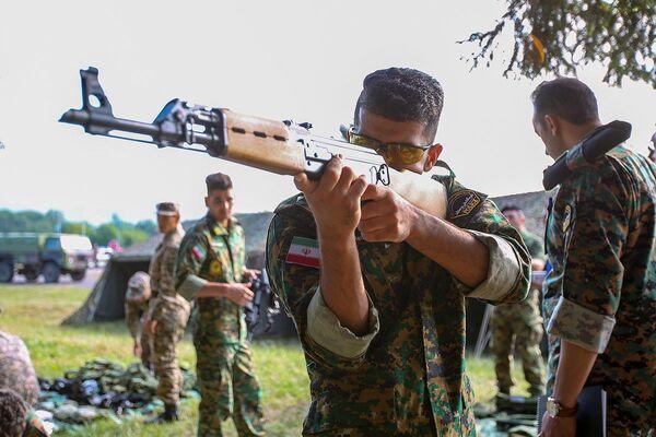 Účastníci Army 2021 v Srbsku - Sputnik Česká republika