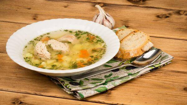 Куриный суп  - Sputnik Česká republika