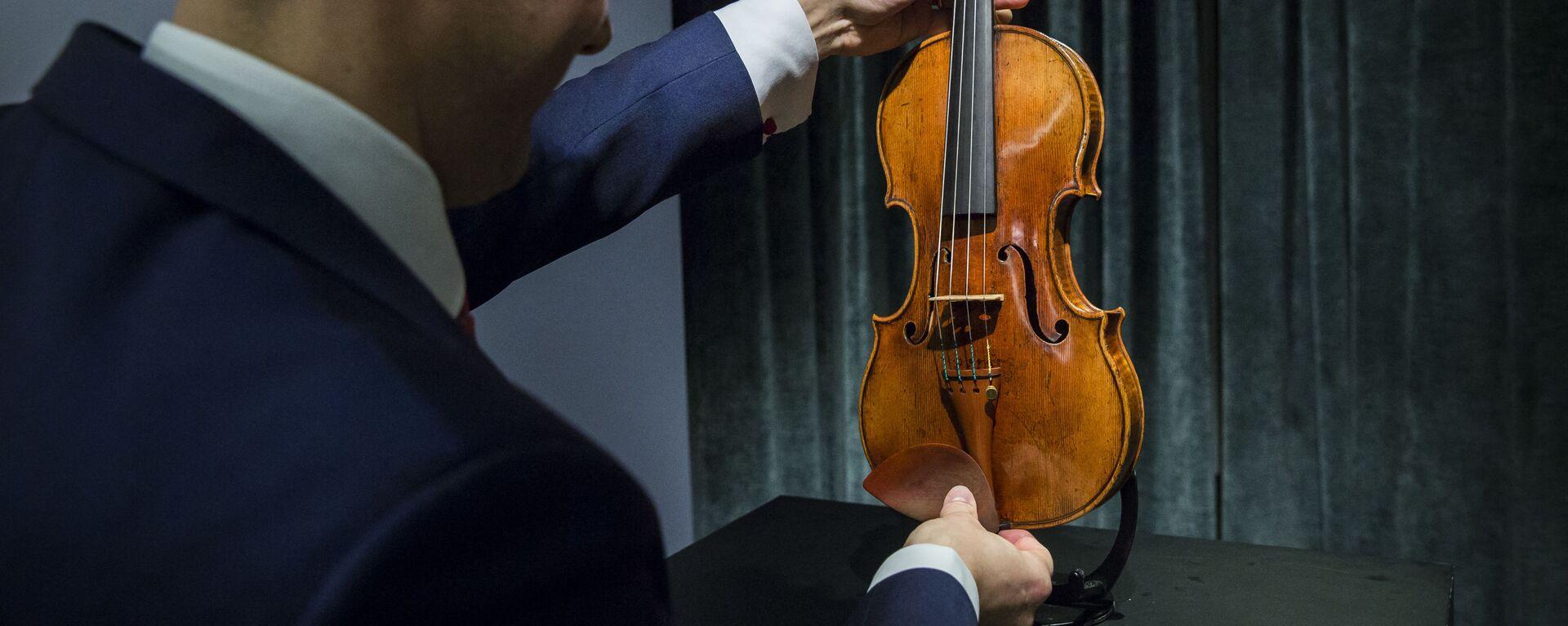 housle Stradivariho - Sputnik Česká republika, 1920, 25.08.2021