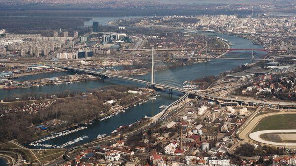Вид на Белград, Сербия - Sputnik Česká republika