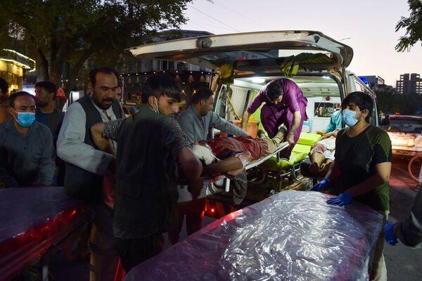 V důsledku výbuchů v hlavním městě Afghánistánu zahynulo minimálně 92 lidí. - Sputnik Česká republika