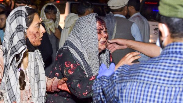 Následky teroristického útoku v Kábulu - Sputnik Česká republika