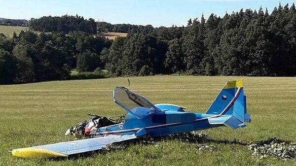 Авиакатастрофа самолета в Мосте, Чехия - Sputnik Česká republika