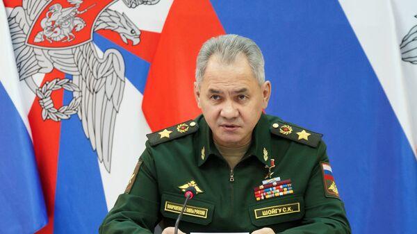 Министр обороны РФ Сергей Шойгу  - Sputnik Česká republika