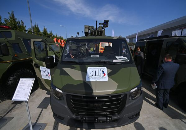 Vozidlo Sobol NN s bojovým modulem. - Sputnik Česká republika