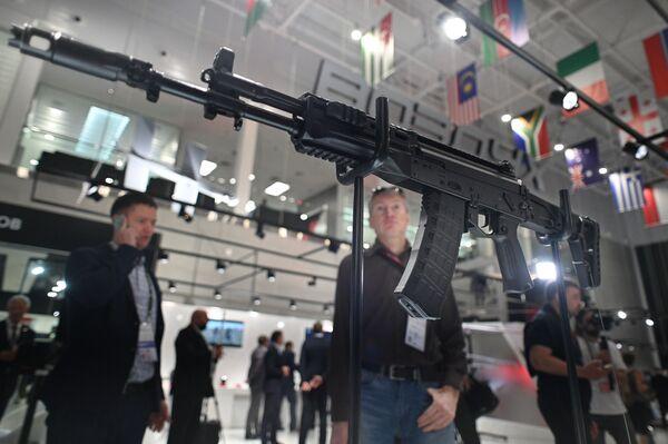 Samopal AK-12 od koncernu Kalašnikov. - Sputnik Česká republika