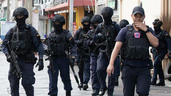 Полиция в Таиланде. Архивное фото - Sputnik Česká republika