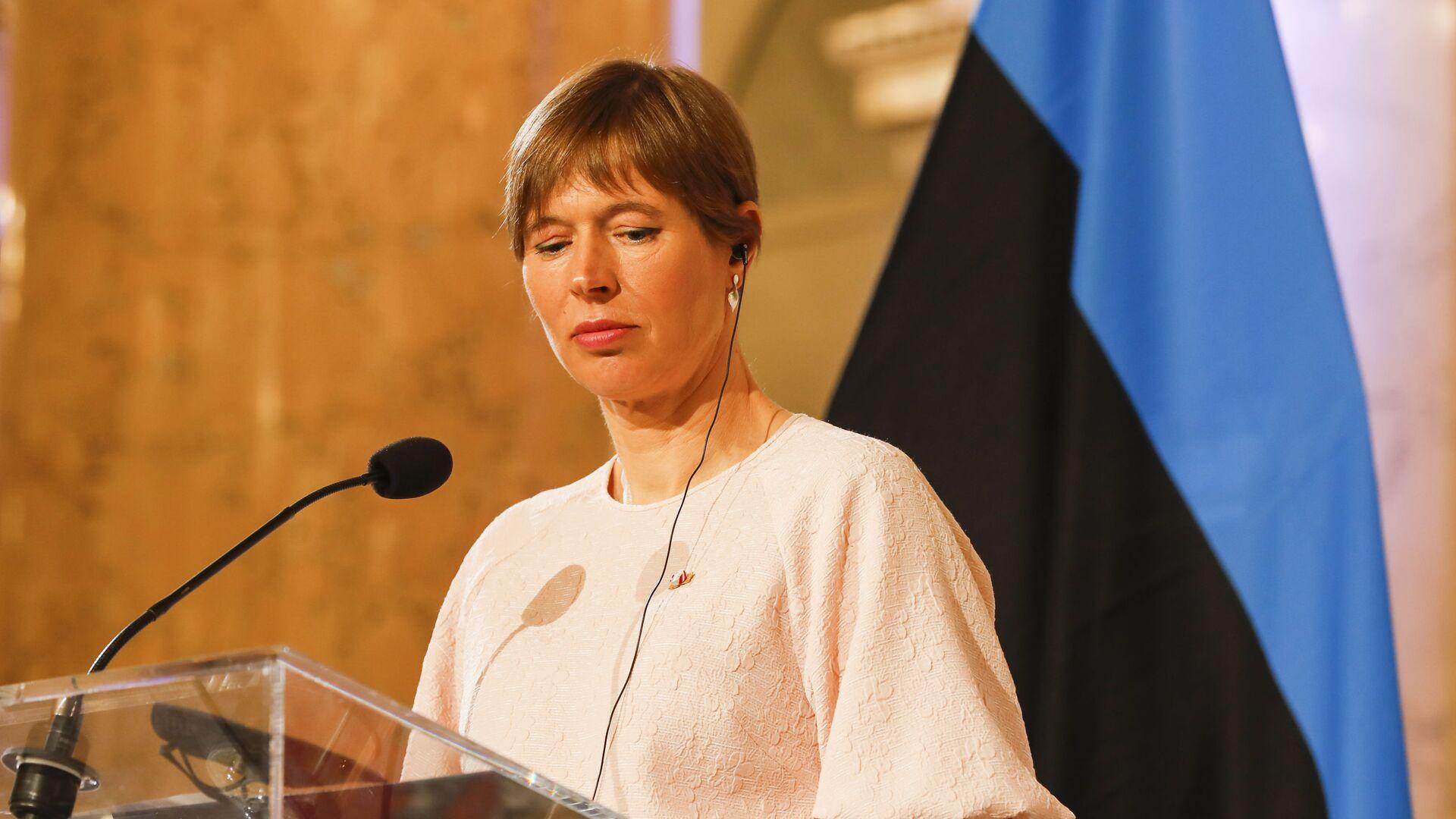 Estonská prezidentka Kersti Kaljulaidová - Sputnik Česká republika, 1920, 29.08.2021