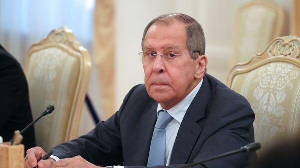 Министр иностранных дел РФ Сергей Лавров в Москве - Sputnik Česká republika