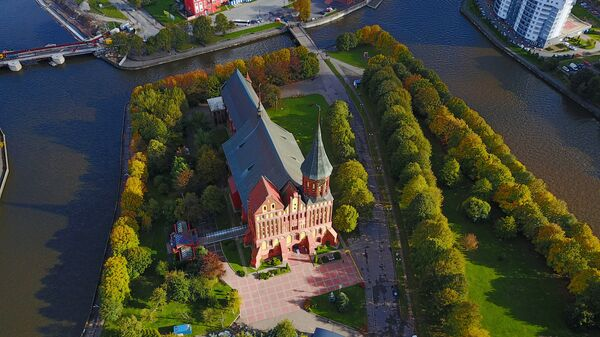 Вид на Калининград с высоты  - Sputnik Česká republika