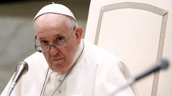 Папа Франциск проводит еженедельную общую аудиенцию в Ватикане - Sputnik Česká republika