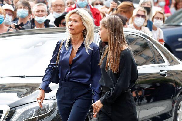 Stella Belmondo a její matka Natty Tardivel - Sputnik Česká republika