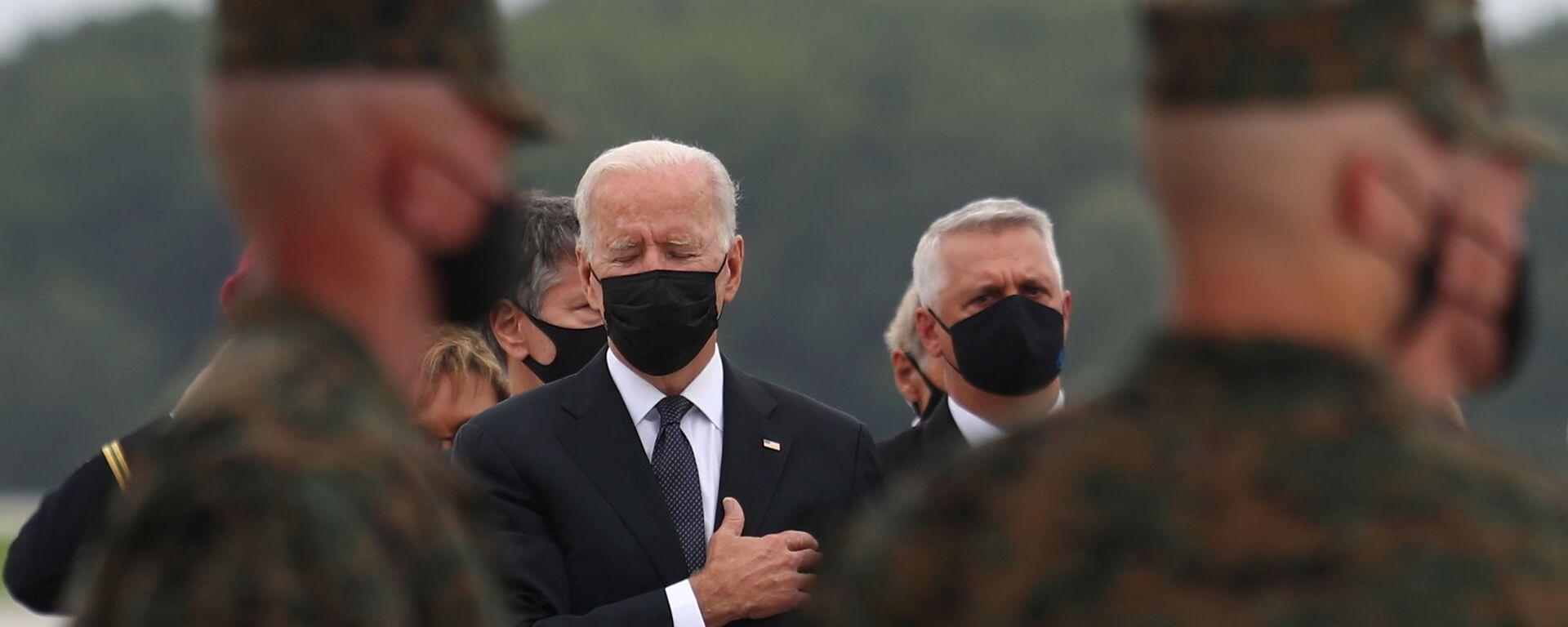 Americký prezident Joe Biden - Sputnik Česká republika, 1920, 12.09.2021