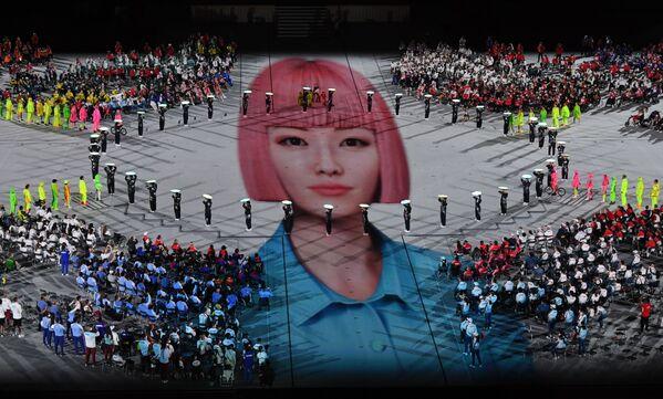 Slavnostní ceremoniál uzavření XVI. letních paralympijských her v Tokiu. - Sputnik Česká republika