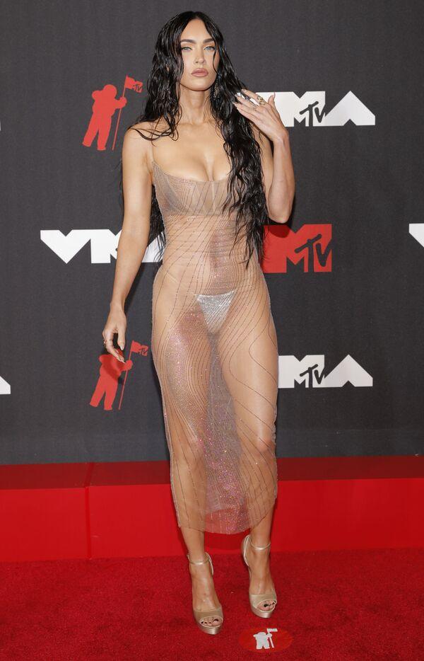 Megan Fox na předávání hudebních cen MTV Video Music Awards v New Yorku - Sputnik Česká republika
