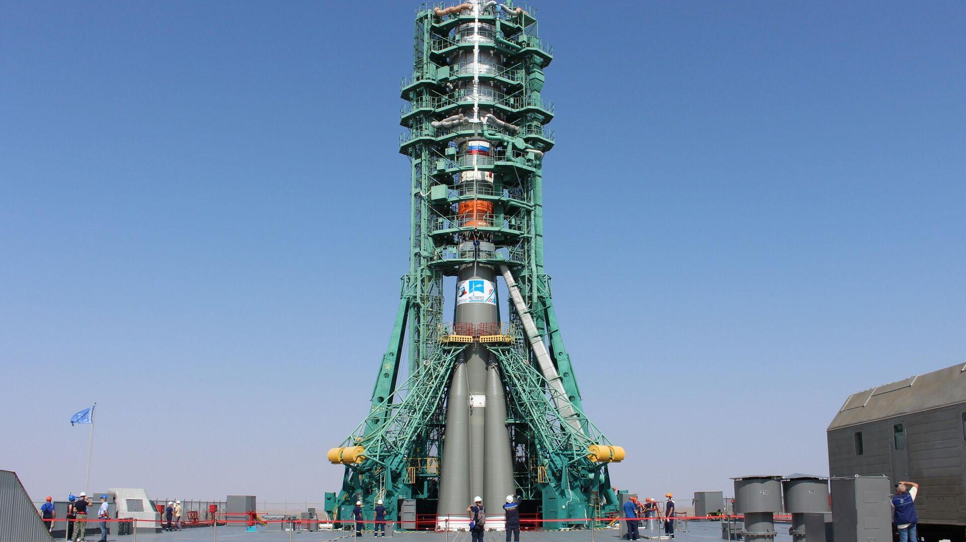 Start rakety Sojuz 2.1B  - Sputnik Česká republika, 1920, 14.09.2021