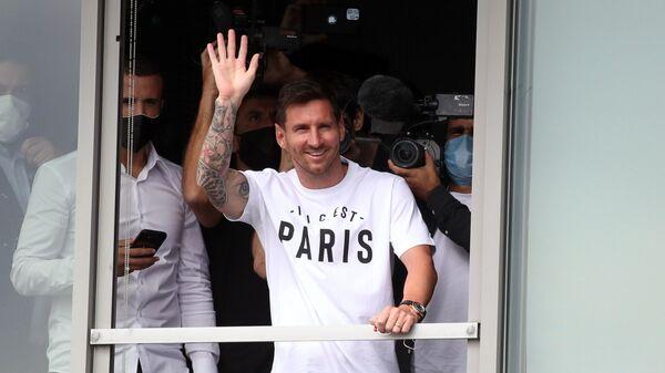 Лионель Месси прибывает в Париж, чтобы присоединиться к Пари Сен-Жермен - Sputnik Česká republika