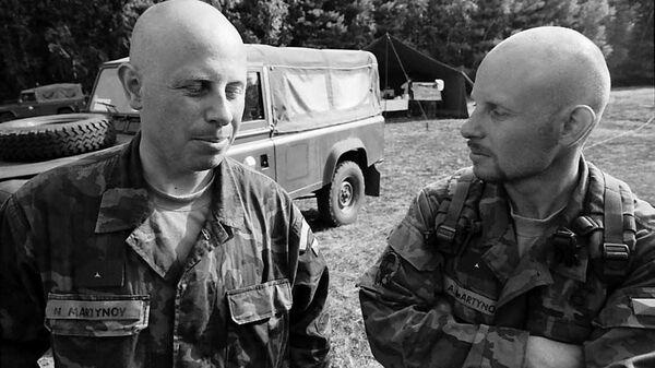 Nikolaj Martynov se svým bratrem Alexandrem  - Sputnik Česká republika