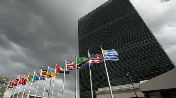 Штаб-квартира Организации Объединенных Наций в Нью-Йорке - Sputnik Česká republika