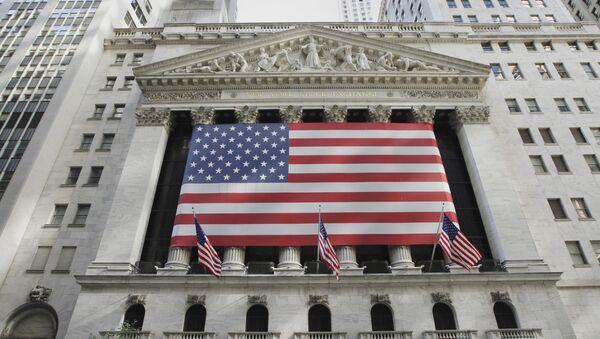 Burza cenných papírů v v New Yorku - Sputnik Česká republika