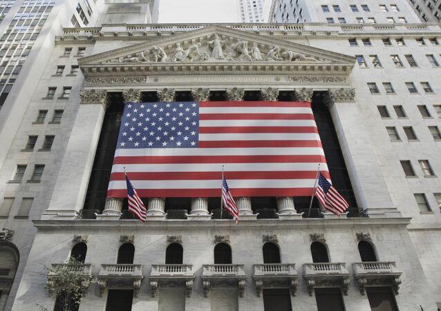 Burza cenných papírů v v New Yorku
