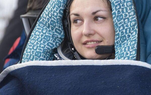 Ruská kosmonautka Jelena Serovová - Sputnik Česká republika