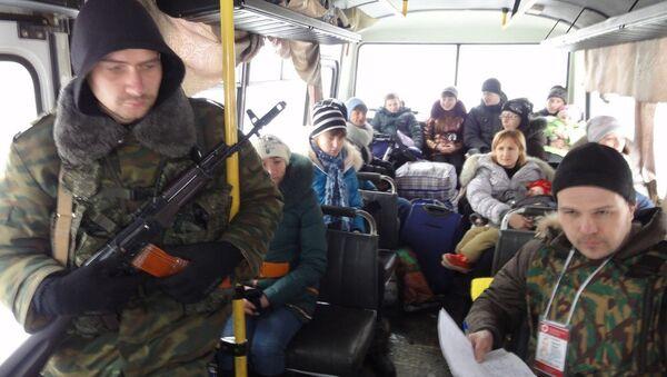 Běženci z Donbasu - Sputnik Česká republika