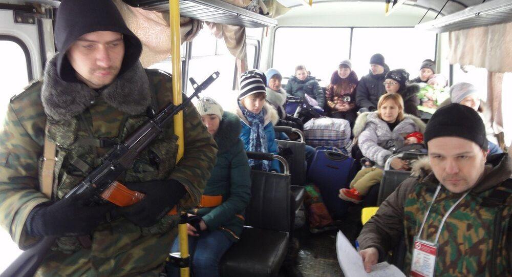 Běženci z Donbasu