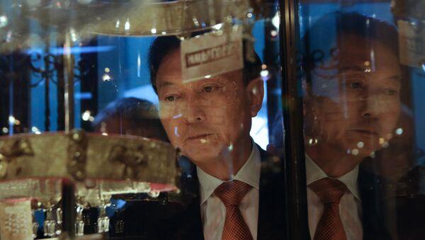 Bývalý premiér Yukio Hatoyama navštívil Krym - Sputnik Česká republika