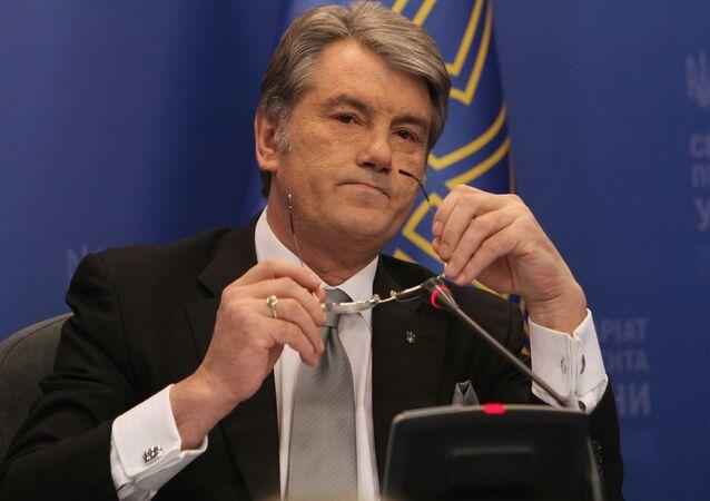 Bývalý ukrajinský prezident Viktor Juščenko